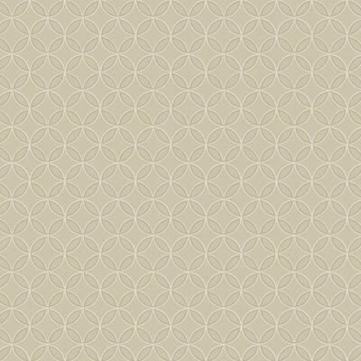 Trista  27' x 27 Geometric 3D Embossed Roll Wallpaper