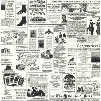 American Headline News 33' x 20.5 Wallpaper