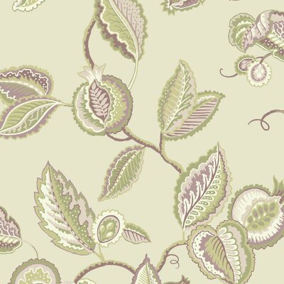 Waverly Fantasy Fleur 33' x 20.5 Floral and Botanical 3D Embossed Wallpaper