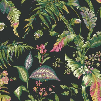 Ashford Tropics Fiji Garden 27' x 27 Floral and Botanical Wallpaper