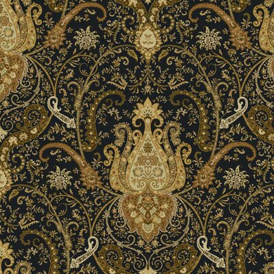 Waverly Byzance 27' x 27 Paisley Wallpaper