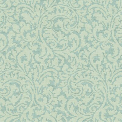 Global Chic Namaste 27' x 27 Scroll 3D Embossed Wallpaper