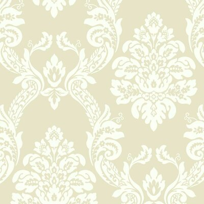 Pattern Play 27' x 27 Ogee Damask Wallpaper