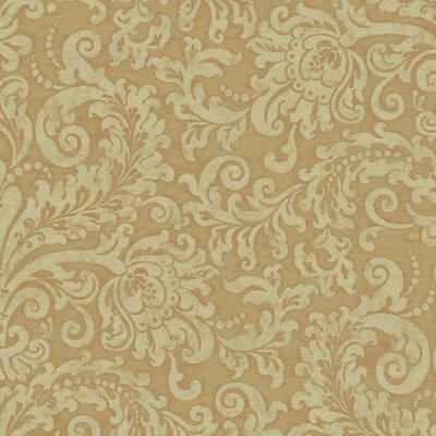 Williamsburg II 27' x 27 Albemarle Damask Texture Wallpaper