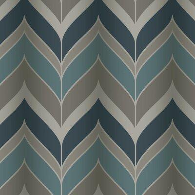 Modern Luxe Gatsby 27' x 27 Herringbone Wallpaper