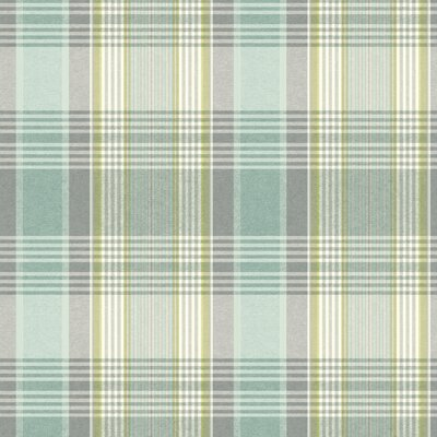Nautical Living Bartola 27' x 27 Plaid Wallpaper