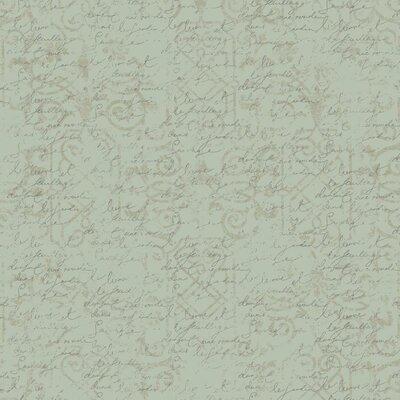 Waverly Cottage Pen Pal 27' x 27 Wallpaper