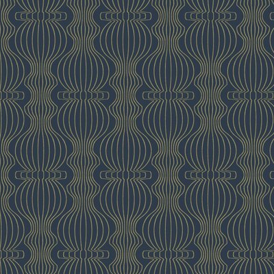 Artisan Dominique 27' x 27 Geometrics Roll Wallpaper