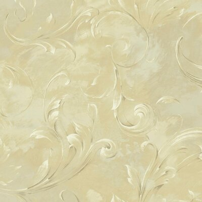 Luxe LG Arch 27' x 27 Scroll Roll Wallpaper