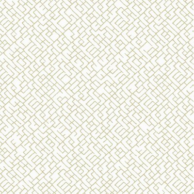 Modern Shapes 27' x 27 Mason Wallpaper