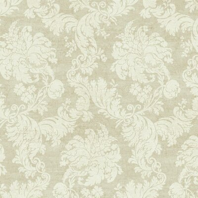 Luxe Regent 27' x 27 Damask Roll Wallpaper