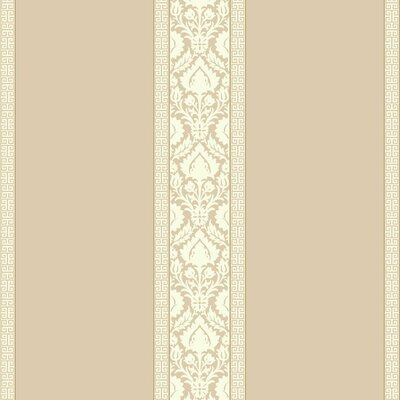Waverly 27' x 27 Santa Maria Stripe Roll Wallpaper