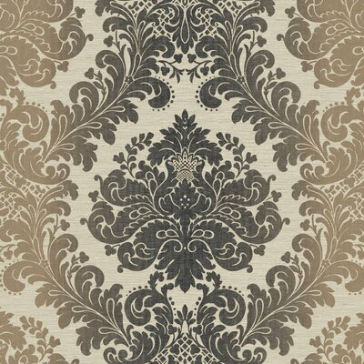 Artisan Estate Ombre 27' x 27 Damask Wallpaper