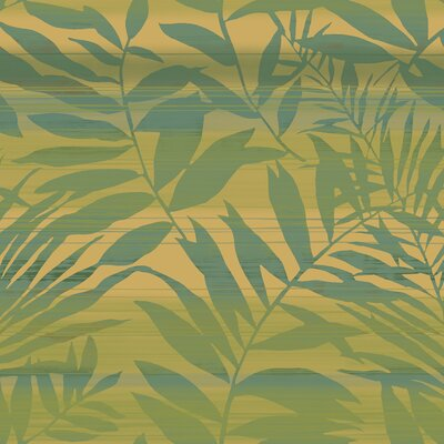 York Wallcoverings Tommy Bahama Tropical Leaves Unpasted Wallpaper