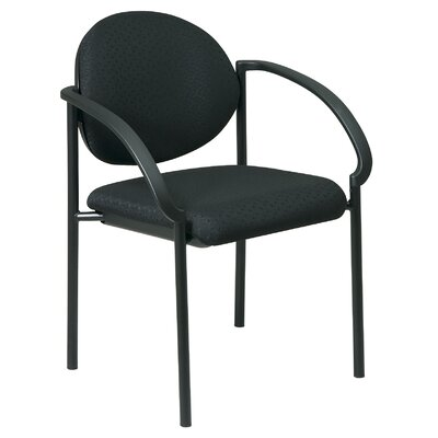 Guest Chair Seat Finish: Diamond - Jet
