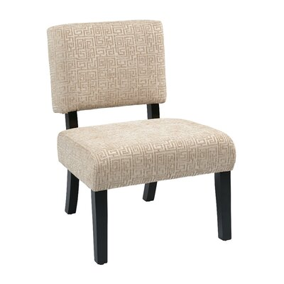 Jasmine Accent Chair Upholstery: Oyster