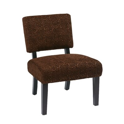Jasmine Accent Chair Color: Chocolate
