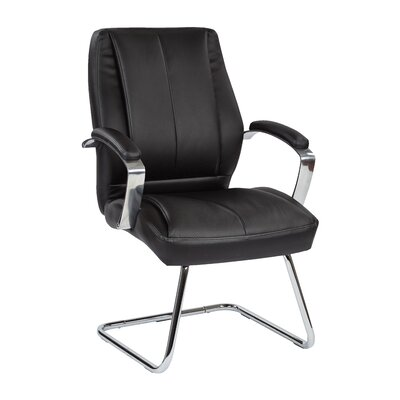6000 Series Mid-Back Leather Conference Chair