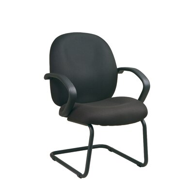 Conference Chair Fabric: Interlink - Flint