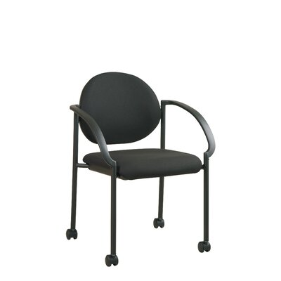 Guest Chair Seat Finish: Icon - Black
