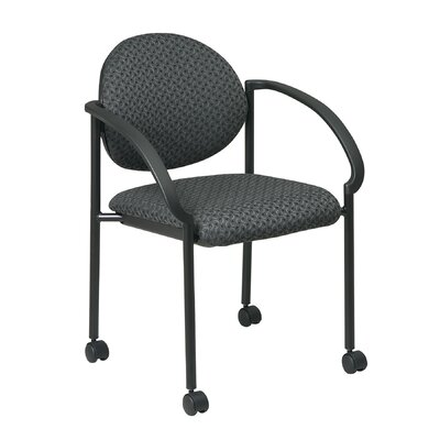 Guest Chair Seat Finish: Trinket - Onyx