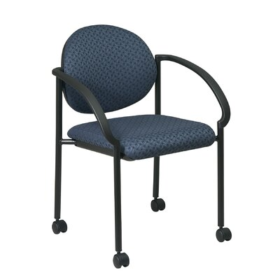 Guest Chair Seat Finish: Trinket - Cadet