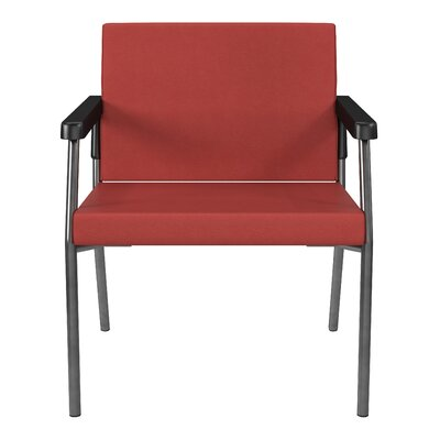 Bariatric Big and Tall Guest Chair Color: Lipstick