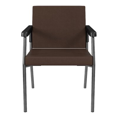 Bariatric Big and Tall Guest Chair Color: Java