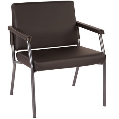 Bariatric Big and Tall Guest Chair Color: Black