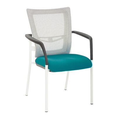 Pierro Fabric Guest Chair Seat Color: Blue