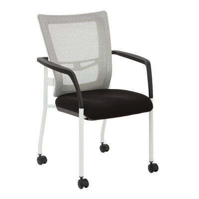 Pierro Fabric Guest Chair Seat Color: Black