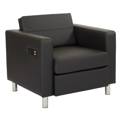 Procter Lounge Chair Seat Color: Black