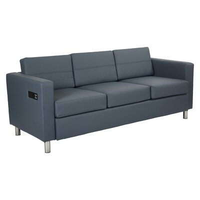 Procter Sofa Upholstery: Blue