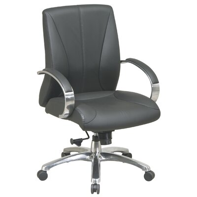 Low Price Office Star High Back ProLine II Deluxe Mid Back Leather  Executive Chair