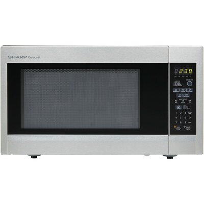Sharp Carousel 1.8 Cu. Ft. 1100W Countertop Microwave Oven - Stainless Steel at Sears.com
