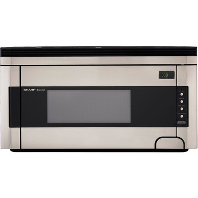 Sharp 1000W Over the Range Microwave Oven in Stainless Steel at Sears.com