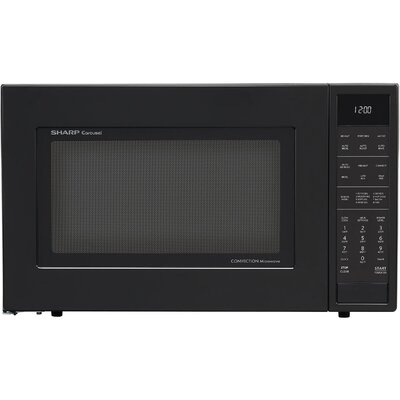 SMC1585BB 1.5 cu. ft. Microwave Oven with Convection Cooking  Auto Defrost  Popcorn and beverage settings and 10 Cooking Power Levels  in 714287