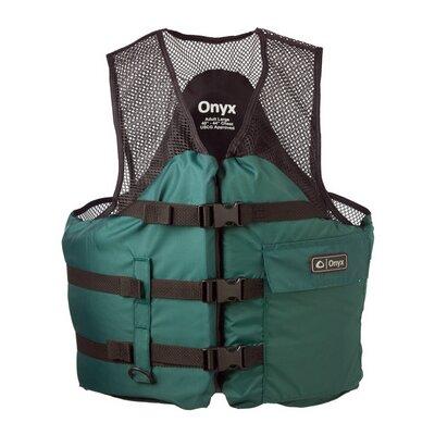 Image of Onyx Mesh Classic Sport Life Vest Size: Medium, Color: Blue (9373-0062)