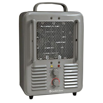 1,500 Watt Portable Electric Fan Compact Heater with Adjustable Thermostat CZ798