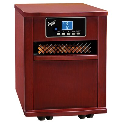 Portable Infared Cabinet Heater Finish: Cherry