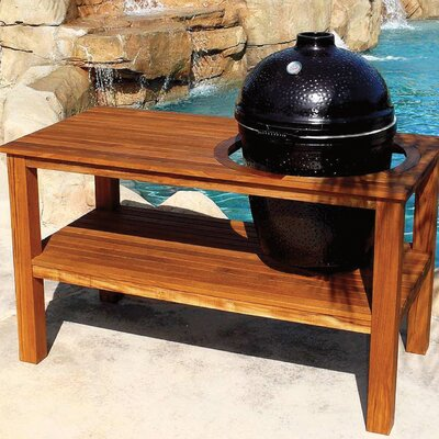 Comet Kamado Wood Table