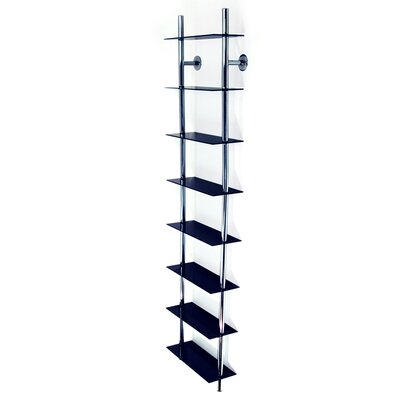 Techstyle Large Wall Mounted CD/ DVD / Media Storage Rack