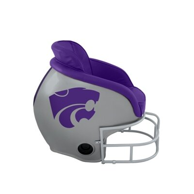 NCAA Licensed Football Helmet Chair NCAA Team: Kansas State University