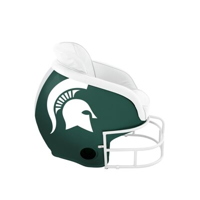 NCAA Licensed Football Helmet Chair NCAA Team: Michigan State University
