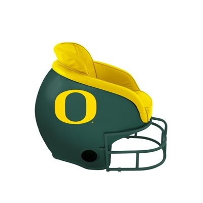 NCAA Licensed Football Helmet Chair Color: University of Oregon