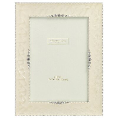 wedding-photo-frame-starburst-cream-enamel-frame