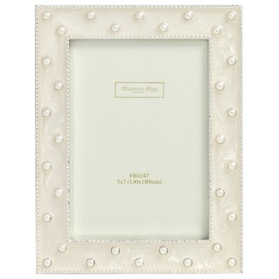 wedding-photo-frame-pearl-cream-enamel-frame