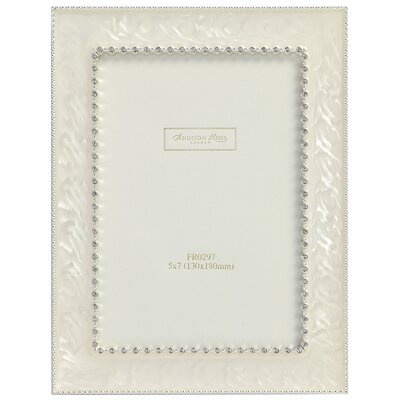 wedding-photo-frame-royal-diamante-cream-enamel-frame