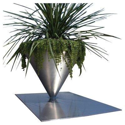Pedestal Aluminum Pot Planter UU44