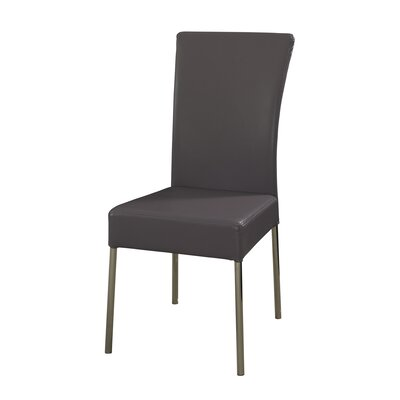 Cameo Parsons Chair Upholstery: Heather Purple